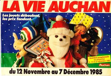 Catalogue Auchan Noël 1985