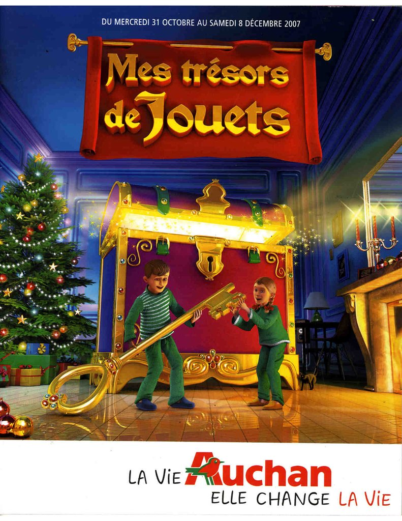 catalogue auchan no l 2007 catalogue de jouets. Black Bedroom Furniture Sets. Home Design Ideas