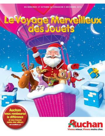 Catalogue Auchan Noël 2010