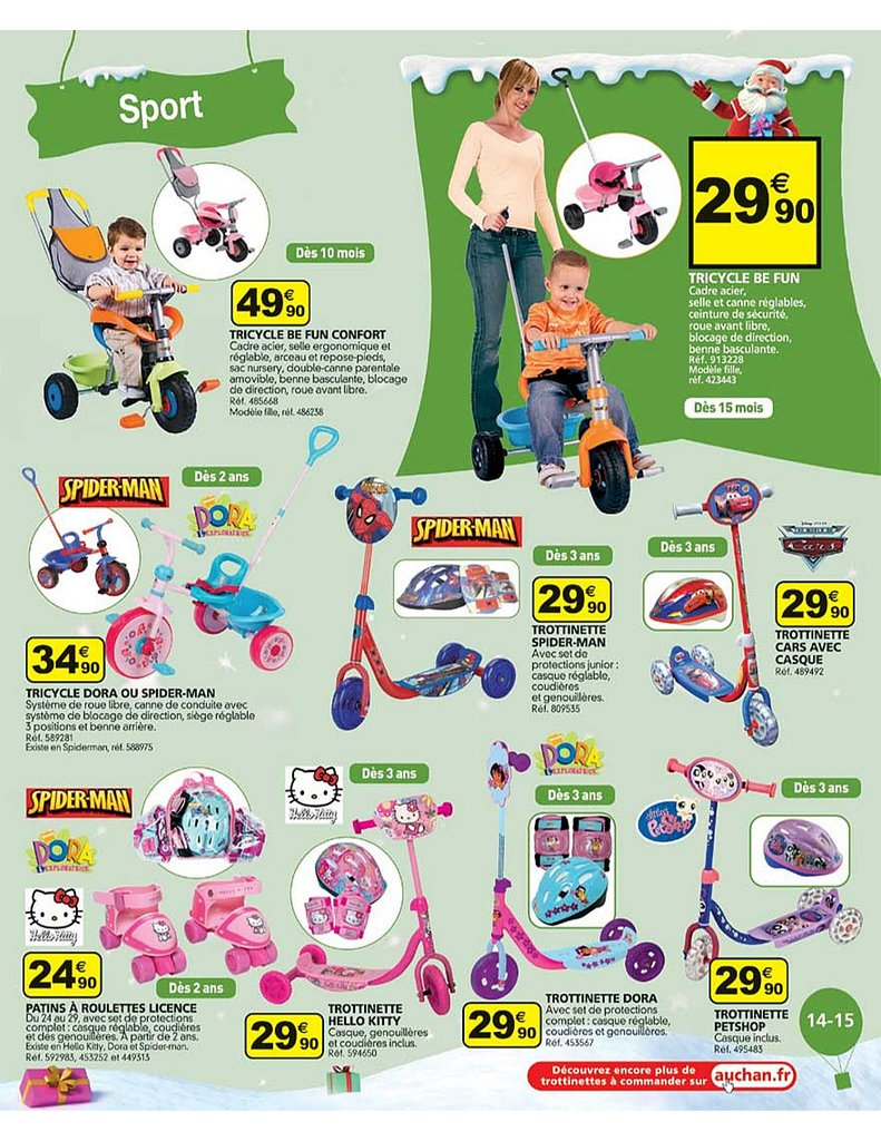 catalogue auchan no l 2010 catalogue de jouets. Black Bedroom Furniture Sets. Home Design Ideas