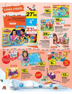 Catalogue Auchan Noël 2010 page 62