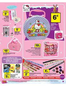 Catalogue Auchan Noël 2010 page 65