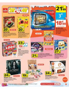 Catalogue Auchan Noël 2010 page 71