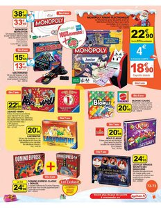 Catalogue Auchan Noël 2010 page 73
