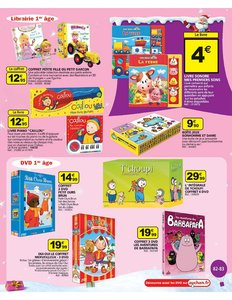 Catalogue Auchan Noël 2010 page 83