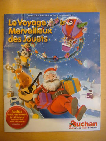 Catalogue Auchan Noël 2011