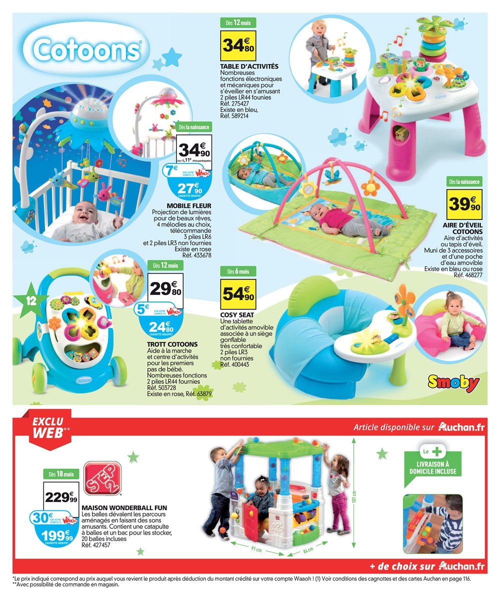 catalogue auchan no l 2016 catalogue de jouets. Black Bedroom Furniture Sets. Home Design Ideas