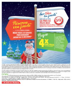 Catalogue Auchan Noël 2016 page 4