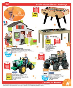 Catalogue Auchan Noël 2016 page 95
