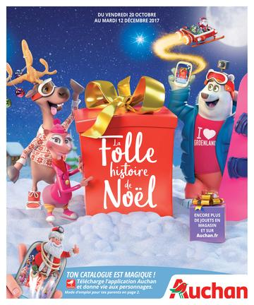 Catalogue Auchan Noël 2017