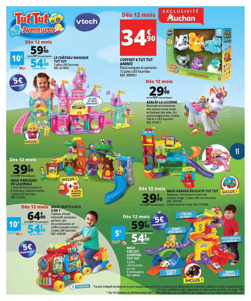 catalogue auchan no l 2017 catalogue de jouets. Black Bedroom Furniture Sets. Home Design Ideas