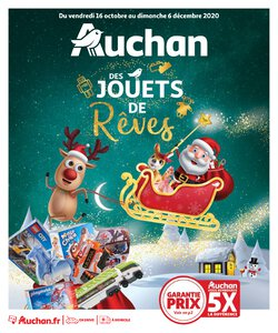 Catalogue Auchan Noël 2020 page 1