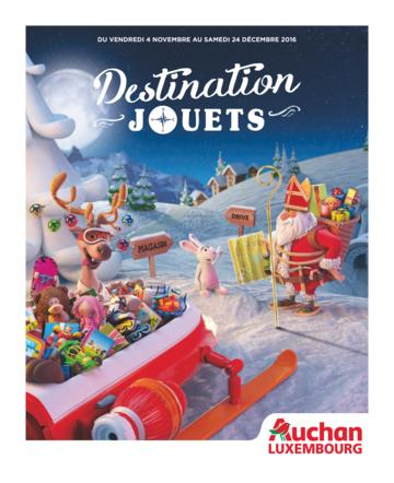 Catalogue Auchan Luxembourg Noël 2016