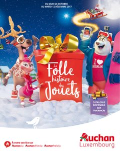 Catalogue Auchan Luxembourg Noël 2017 page 1