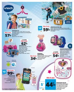Catalogue Auchan Luxembourg Noël 2017 page 55