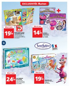 Catalogue Auchan Luxembourg Noël 2017 page 56