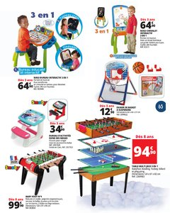 Catalogue Auchan Luxembourg Noël 2017 page 63