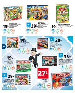 Catalogue Auchan Luxembourg Noël 2017 page 72