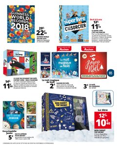 Catalogue Auchan Luxembourg Noël 2017 page 85