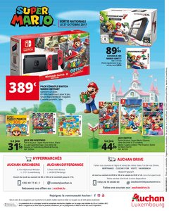 Catalogue Auchan Luxembourg Noël 2017 page 92
