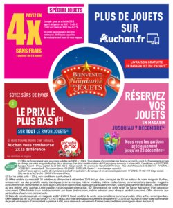 Catalogue Auchan Noël 2015 page 2