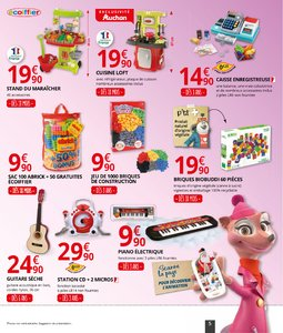 Catalogue Auchan Supermarché Noël 2017 page 5