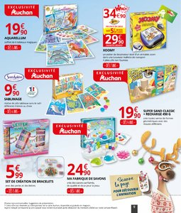 Catalogue Auchan Supermarché Noël 2017 page 9