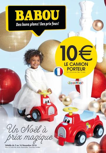 Catalogue Babou Noël 2016