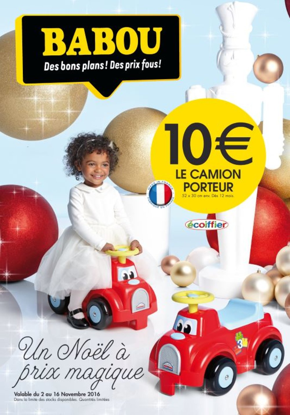 catalogue babou no l 2016 catalogue de jouets