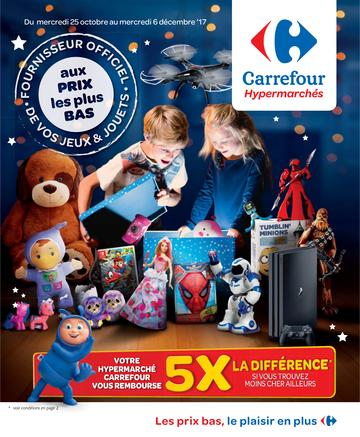 Catalogue Carrefour Belgique Noël 2017