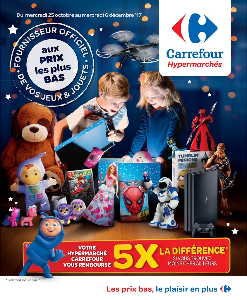 Catalogue Carrefour Belgique Noel 2017 Catalogue De Jouets