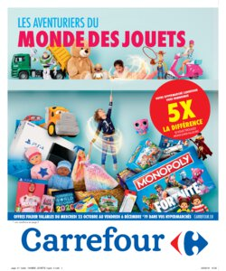 Catalogue Carrefour Belgique Noël 2019 page 1