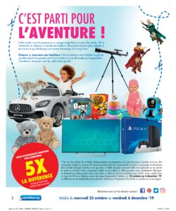 Catalogue Carrefour Belgique Noël 2019 page 2