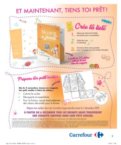 Catalogue Carrefour Belgique Noël 2019 page 3