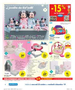 Catalogue Carrefour Belgique Noël 2019 page 6