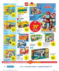Catalogue Carrefour Belgique Noël 2019 page 10