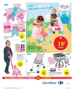 Catalogue Carrefour Belgique Noël 2019 page 23