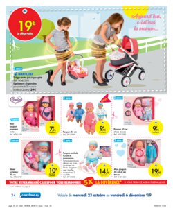 Catalogue Carrefour Belgique Noël 2019 page 24