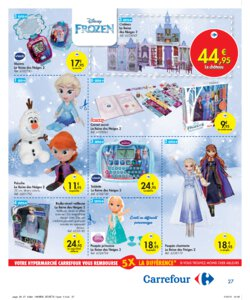 Catalogue Carrefour Belgique Noël 2019 page 27