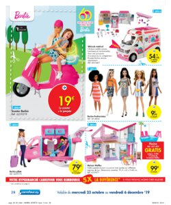 Catalogue Carrefour Belgique Noël 2019 page 28
