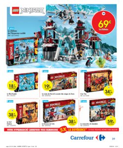 Catalogue Carrefour Belgique Noël 2019 page 39