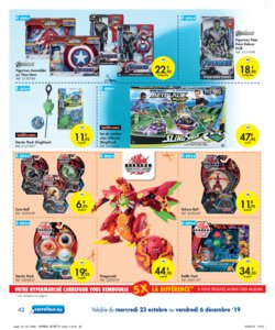 Catalogue Carrefour Belgique Noël 2019 page 42