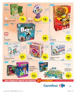 Catalogue Carrefour Belgique Noël 2019 page 49