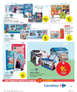 Catalogue Carrefour Belgique Noël 2019 page 53