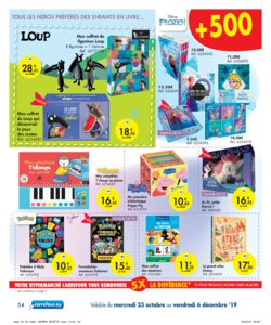 Catalogue Carrefour Belgique Noël 2019 page 54