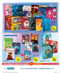 Catalogue Carrefour Belgique Noël 2019 page 56