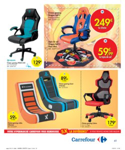 Catalogue Carrefour Belgique Noël 2019 page 61