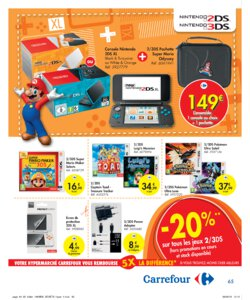 Catalogue Carrefour Belgique Noël 2019 page 65