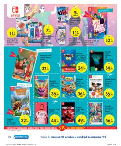 Catalogue Carrefour Belgique Noël 2019 page 70