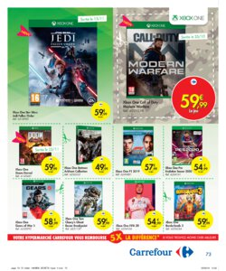 Catalogue Carrefour Belgique Noël 2019 page 73